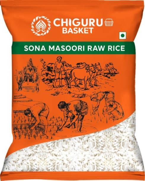 Chiguru basket 2 years old Sona Masoori Rice (Medium Grain, Raw)