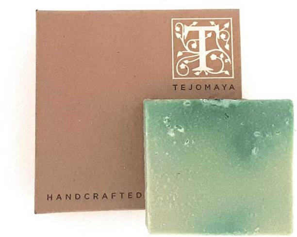 Tejomaya Handmade Natural Tea Tree, Citronella, Olive Oil and Green Clay soap