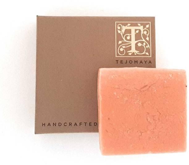 Tejomaya Handmade Natural Dark Circle Remover Peach soap