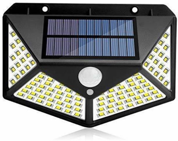 OFOY Solar Lights for Garden 100 LED Motion Sensor Security Lamp for Home and Garden,Outdoors   Bright Solar Wireless Security Motion Sensor 100 Led Night Light (100 LED - Pack of 1) Solar Light Set