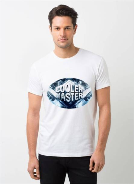 HamsaMART.com Typography, Graphic Print Men Round Neck White T-Shirt