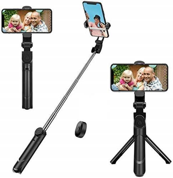 Filiz XT02 Professional Video and Picture Catcher Bluetooth Selfie Stick with Tripod Stand Features Monopod