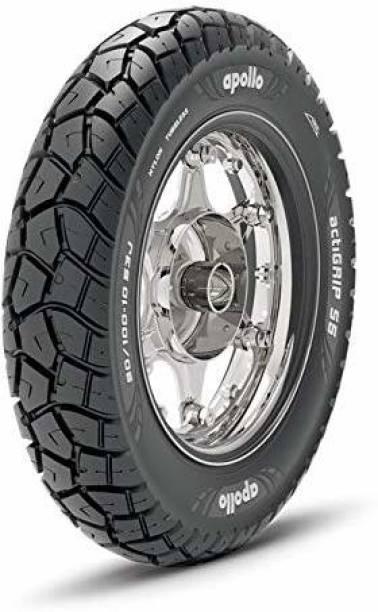 Apollo actiGRIP S5 90/100-10 53P Tubeless Rear TUBELESS Tyre Rear Tyre