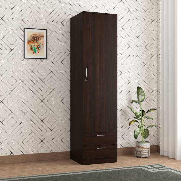 SPACEX Olivia Engineered Wood 1 Door Wardrobe