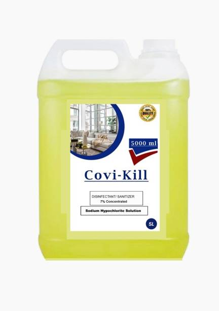 COVIKILL sodium hypochlorite house sanitizing solution spray safe & secure life FRESH (5000 ml)