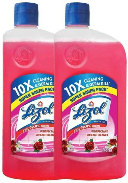 LIZOL Disinfectant Floor Cleaner Floral
