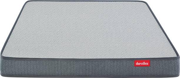 DUROFLEX LiveIn 2 in 1 Reversible 5 inch Double High Resilience (HR) Foam Mattress