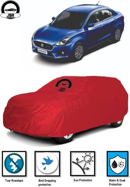 J S R Car Cover For Maruti Suzuki Swift Dzire (Without Mirror Pockets)