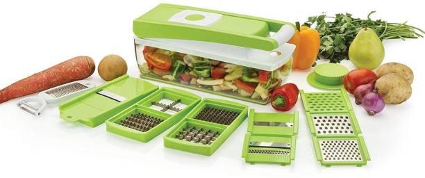 Snowberry Vegetable Cutter 12 in 1, Vegetable rater and SlicerG Vegetable Chopper