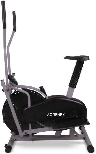Adrenex by Flipkart Orbitrek Elliptical Cross trainer with Seat Exercise Bike With Moving Handle Dual-Action Stationary Exercise Bike