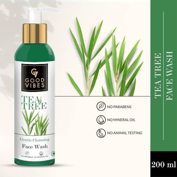 GOOD VIBES Tea Tree  (200 ml) Face Wash