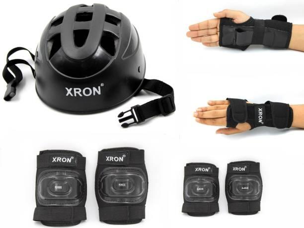 XRON Protective Set Skating and Cycling For 7 To 13 Yr Old Skating Guard Combo