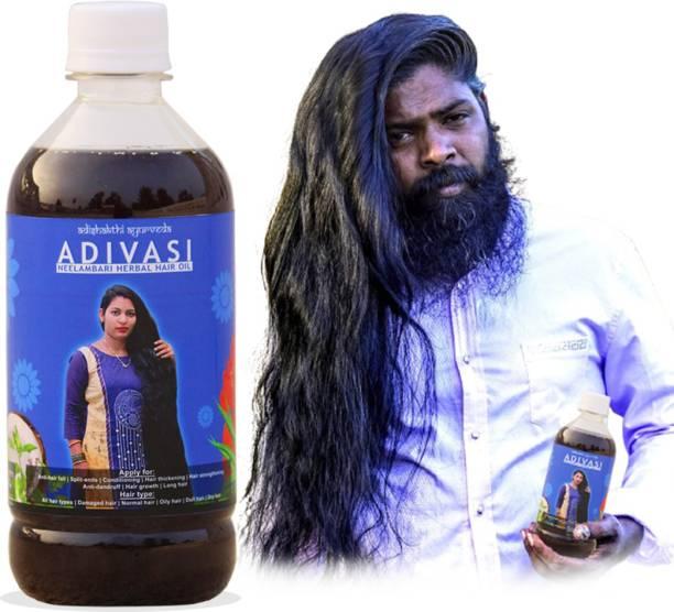 adivasi neelambari adivasi hair oil use for regrowth and long hair Hair Oil