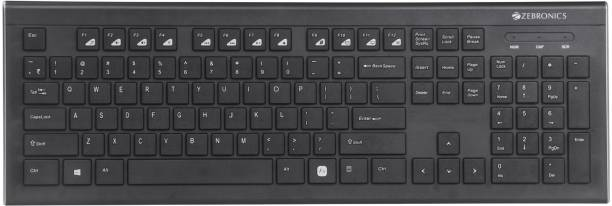 ZEBRONICS ZEB-DLK01 Wired USB Multi-device Keyboard