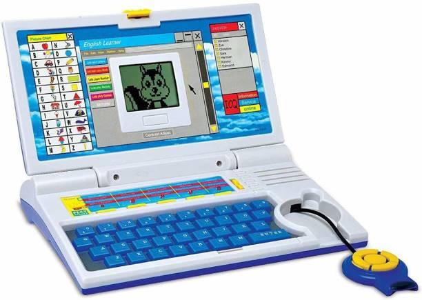 NAMANSHU TEX English Learner Educational Notebook / Laptop Toys For Kids