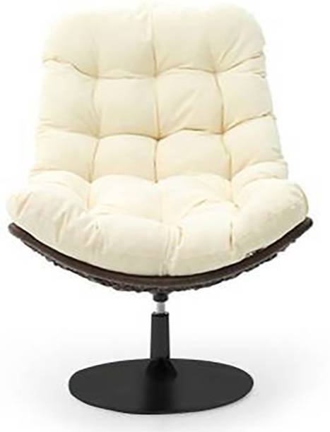 Urban Ladder DSW Chair Replica Synthetic Fiber Living Room Chair