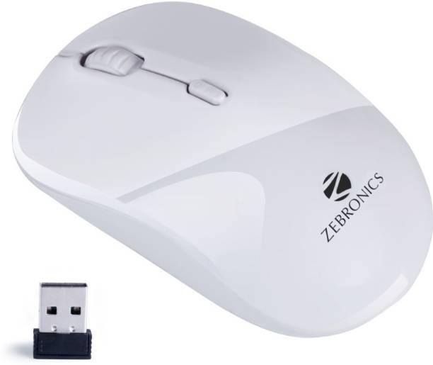 ZEBRONICS Zeb-Shine Wireless Optical Mouse