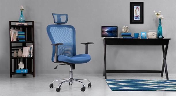 Urban Ladder Venturi 3 Axis Fabric Office Arm Chair