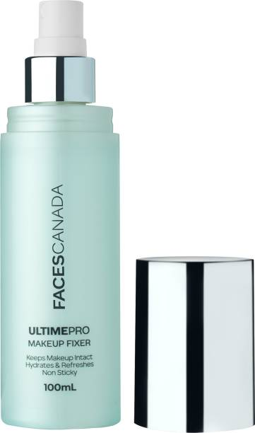 FACES CANADA Makeup Fixer Setting Spray with Chamomile and Hyaluronic Acid Primer  - 100 ml
