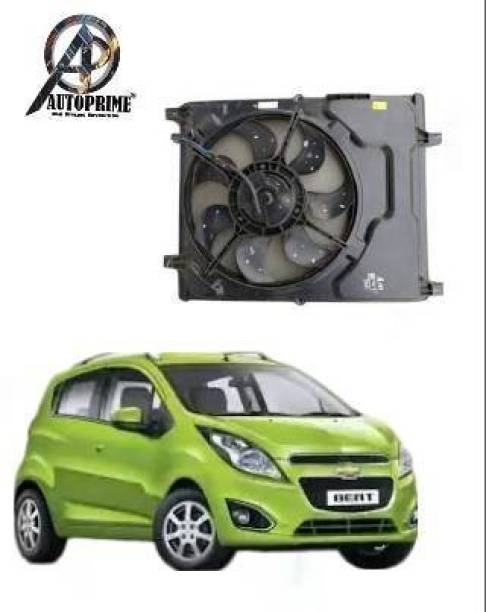 Autoprime Beat petrol Single Radiator Fan Assembly
