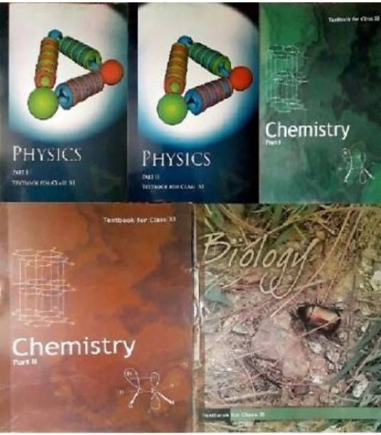 NCERT Textbook ( Physics, Chemistry, Biology ) For Class 11th, Combo Set, Paperback Binding
