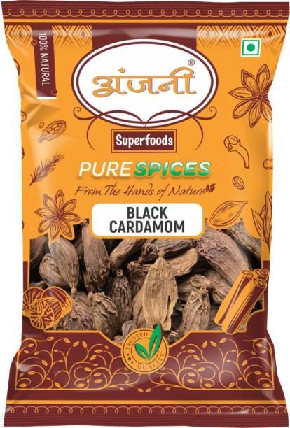Anjani 100% Natural Black Cardamom 50g