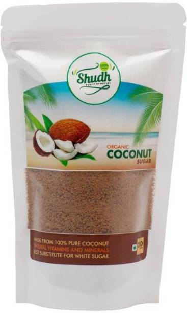 Shudh Pure Coconut Powder Sugar With Nutrition Seal Packed (Brown) Sugar
