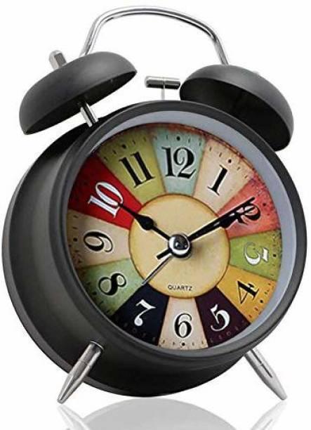 ShoppoWorld Analog Black Clock