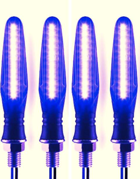 fovro Front, Side LED Indicator Light for Yamaha, Mahindra, KTM, Mahindra Reva, Datsun, Bajaj, TVS, Honda, Suzuki, Hero, Kawasaki, Universal For Bike R15, Super|Thunderbird, Classic Desert Storm, Pulsar 200NS, Rajdoot, Pulsar 135 LS DTS-i, Gladiator SS, Splender iSMART, Karizma, Ninja 250, Duke RC 190, Pulsar 150 NS, Apache RTR 150, Apache RTR 160, Apache 200, Universal For Bike
