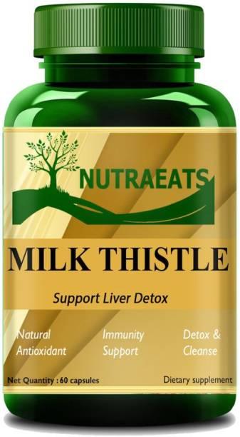 NutraEats Nutrition Milk Thistle Capsules Premium
