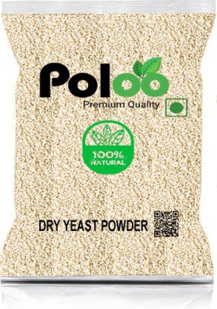 Poloo |Active Instant Dry Yeast|Grade A Quality Yeast Powder|Baking, Pizza, Cake, Bread, Wine Making|250gm Yeast Powder