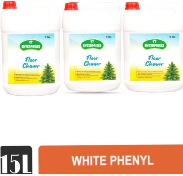 YT ENTERPRISES JUMBO PACK OF WHITE PHENYL 15LTRS SWEET ROSE