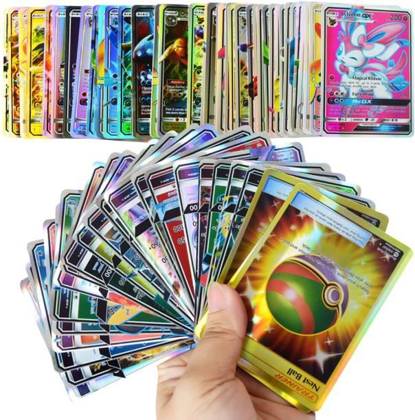 CrazyBuy Pokemon 2020 GX Internation 100 playing card game
