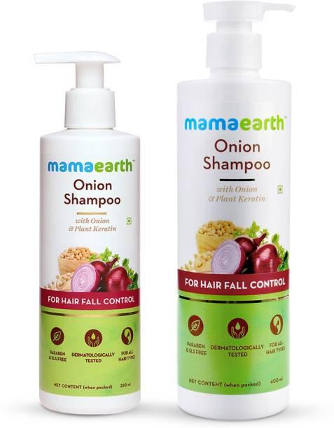 MamaEarth Onion Hair Fall Shampoo Combo