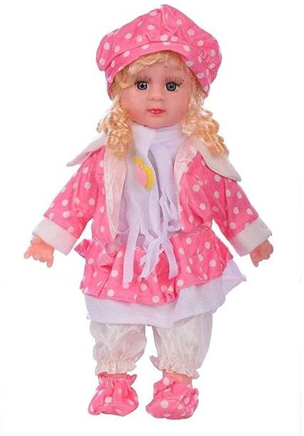 WE MART Big Size Singing Songs and Poem Baby Girl Doll