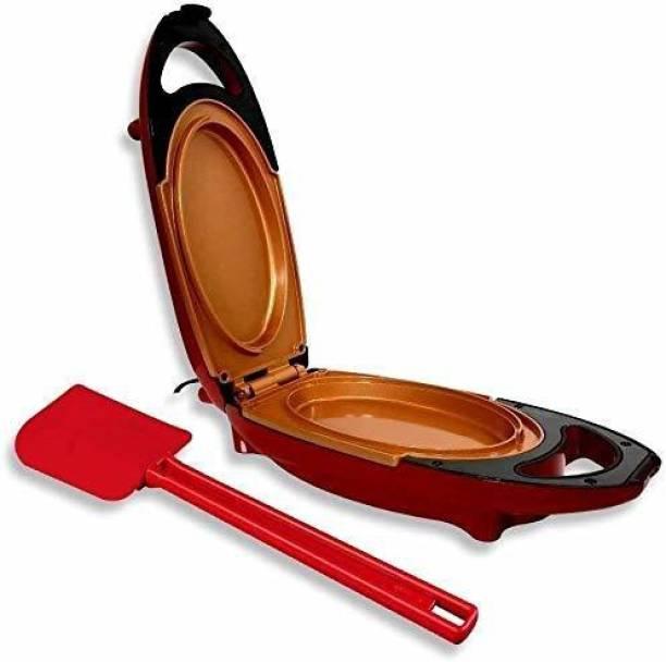 pinkparifashion red pan Rectangle Electric Pan
