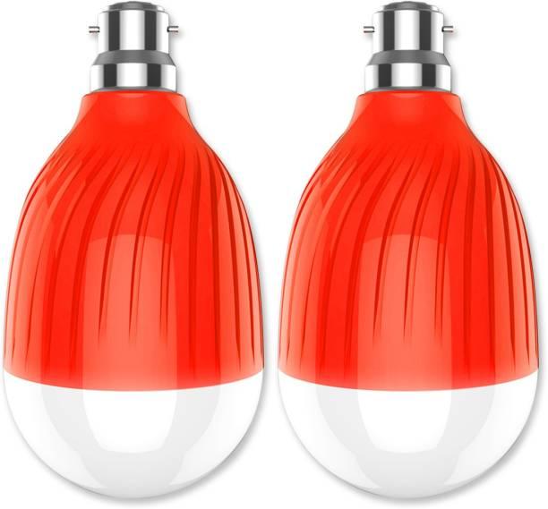 Pick Ur Needs Rechargeable AC/DC Bulb (Dual Glass) Bulb Bulb Emergency Light