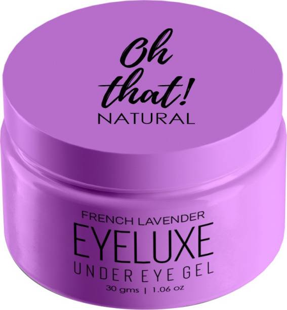 Oh That Natural Eyeluxe Under Eye Cream Gel To Reduce Dark Circles, Puffiness, Wrinkles & Fine Lines for men and women
