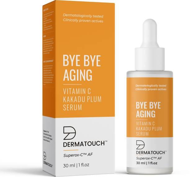Dermatouch Bye Bye Aging Vitamin C Kakadu Plum Serum | Suitable For All Skin Types - 30ML