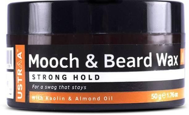 USTRAA Beard & Mooch Wax - Strong Hold - 50g Beard Gel