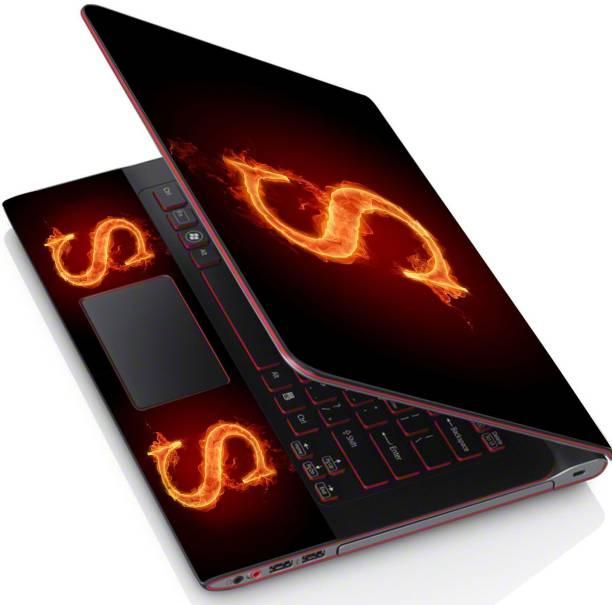 POINT ART HQ Laptop Skin Full Panel Decal Sticker Vinyl Fits Size Bubble Free – S Fire Vinyl Laptop Decal 15.6
