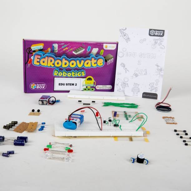 Sparklebox EduSTEM-2   Grade 6   10 Experiments   Ideal Gift for Kids of Age 10 Years and Above   Hands on Learning   DIY Kit