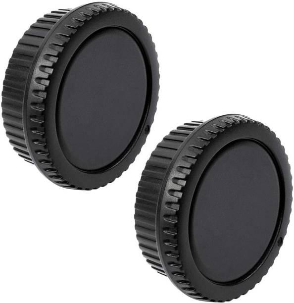 Schsteindar Camera Body Cap and Lens Rear Cap Cover Replacement Set for All Canon EOS EF Mount DSLR Cameras 6D Mark II 5D Mark IV EOS 200D 60D 80D 70D 5Ds R 5D Mark III 600D,2 Sets  Lens Cap