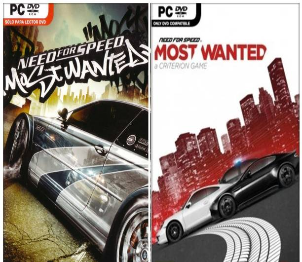 Need for Speed: Most Wanted 2005 and 2012 Top Two Racing Game Combo (Offline Only) (Regular)