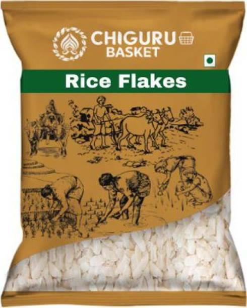 Chiguru basket RICE FLAKES Poha (Medium Grain)