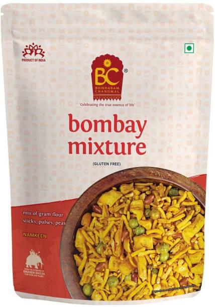 BHIKHARAM CHANDMAL Bombay Mixture Namkeen - Mix Farsan Indian Namkeen Savory Snacks