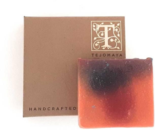 Tejomaya Handmade Natural Berryliscious Berry Blast soap