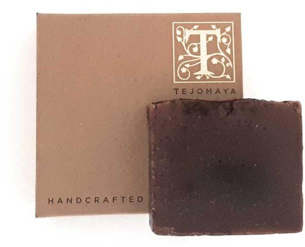 Tejomaya Handmade Natural Exfoliating Coffee Cinnamon soap