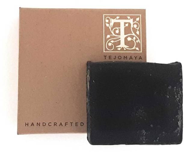 Tejomaya Handmade Natural Exfoliating Charcoal soap