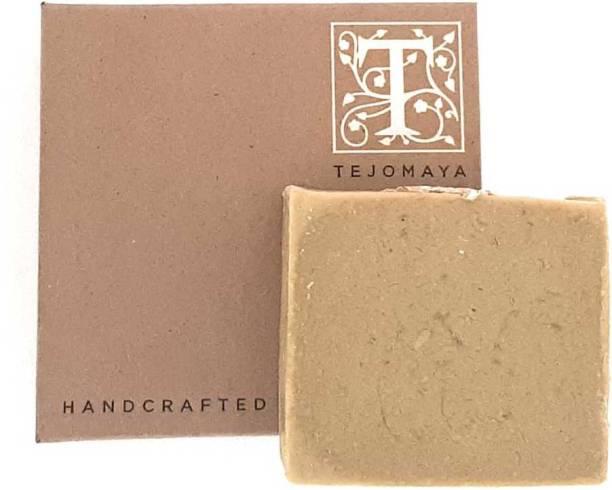 Tejomaya Handmade Natural Cleansing Honey Oatmeal soap